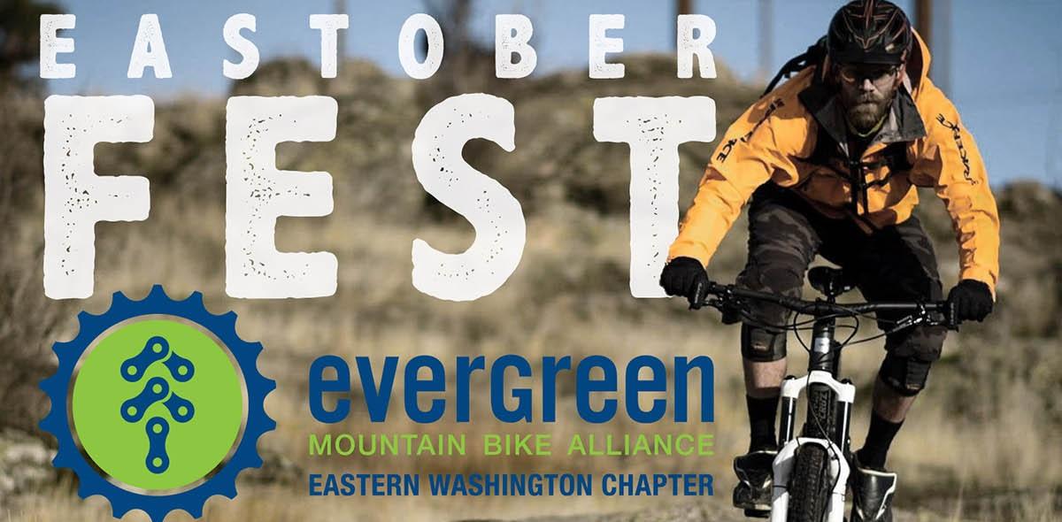 Evergreen MTB Eastoberfest Poster