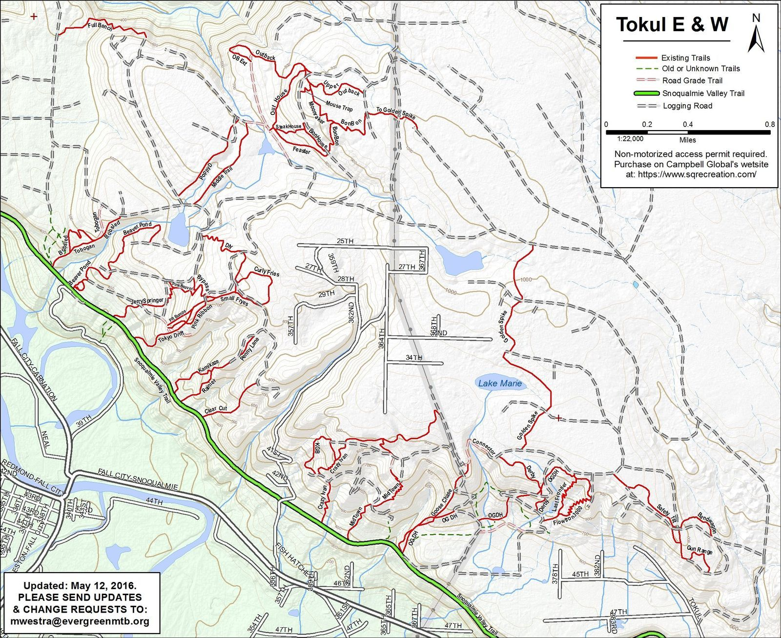 Tokul East on campbell hill map, mountain bike trail map, johnson hill map, banner forest map, adams hill map, baker hill map, king hill map,