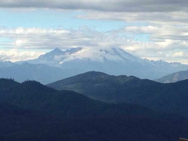 Mount Baker from N. Mountain lookout