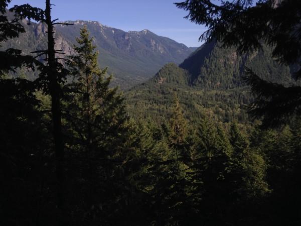 View of the Valley from the CCC trail